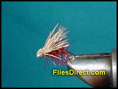 ELK HARE CADDIS BROWN