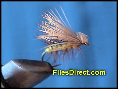 ELK HARE CADDIS YELLOW